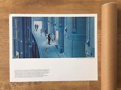 Vintage Star Wars Portfolio Ralph McQuarrie Paintings Prints 1977 Stormtroopers