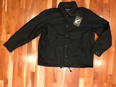 NEW Filson Men's Shelter Cloth Wool Lined Supply Jacket XL 2XL 1st Quality $350  (Filson Shelter Cloth Jacket)