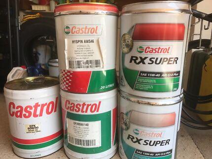 Castrol Oils at Half Price