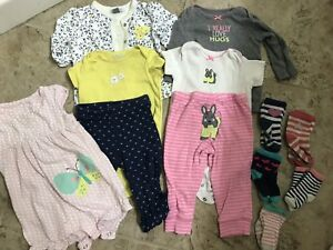 9 month girl clothes and socks