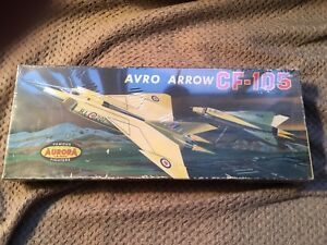 1964 Avro Arrow 105 Aurora Model MINT IN BOX