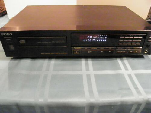 Sony CDP-490  CD Compact Disc Player Tested