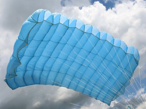 Swift Plus 145 skydiving parachute reserve canopy - 7 cell - F111 - mint shape