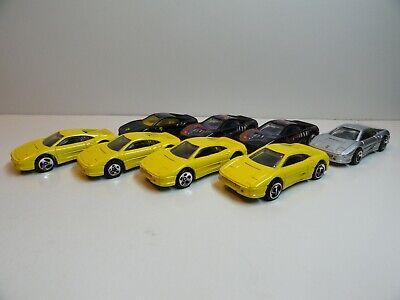 Lot of 8 Hot Wheels Ferrari 355 / F355 - LOOSE