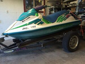 1995 seadoo spx 650 with trailer