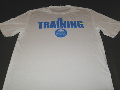 (In Training For The Oklahoma City Memorial Marathon - Runners T-Shirt New MEDIUM)