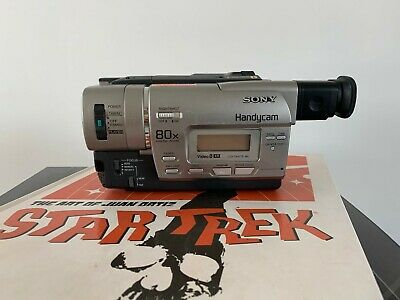 SONY CCD-TR427E ANALOGUE CAMCORDER ( 8mm Video 8 Playback SP/LP )