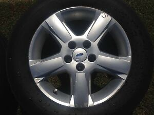 2x Ford 17 inch mag wheels 235/60/17 Merewether Heights Newcastle Area Preview