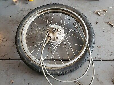 Yamaha Qt50 Front Wheel Brake Axle Backing Plate Pads buy all or parts