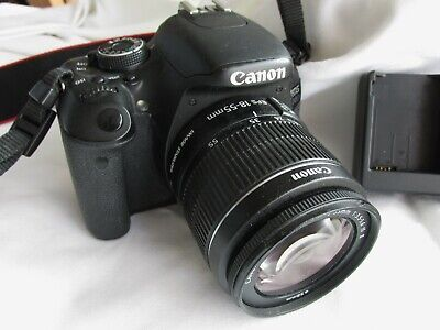 CANON EOS 600D DIGITAL CAMERA WITH 18-55 MM LENS