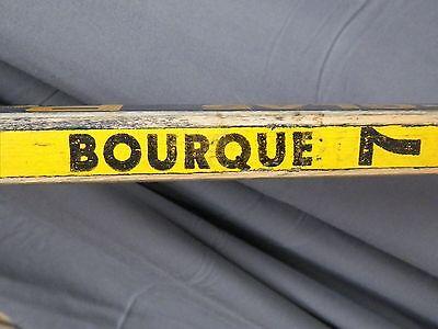 RAY BOURQUE #7 BOSTON BRUINS Game Used Hockey Stick