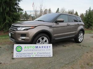 2015 Land Rover Range Rover Evoque PURE PLUS, AWD, LOADED, WARRA
