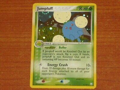 Pokemon Card: JUMPLUFF #11/109 HP90 EX-Team Rocket Returns Rare Holofoil 2004