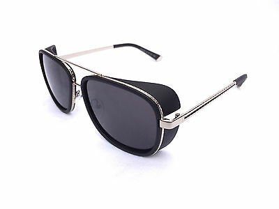 Iron Man Sunglasses ORIGINAL USA Model -  UV Metal Tony Stark authentic movie (Mannequin Movie Sunglasses)
