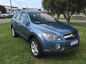 2008 Holden Captiva LX 60TH ANNIVERSARY **7-SEATER** AUTO Wagon East Rockingham Rockingham Area Preview