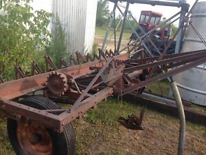Farm stuff and implements
