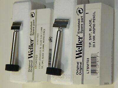 Weller Ltsmt02 Or Ltsmt03 Solder Tip Blade Chisel For Wsp80 Pencil