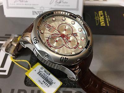 24244 Invicta Reserve 52mm JT Venom Elegant Ltd Edition Swiss Quartz Strap Watch
