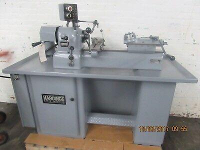 Hardinge Super Precision Model Dsm-59 Secondary Operation Turret Lathe-1982