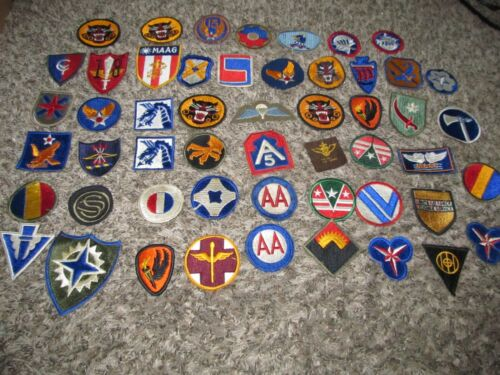 Mostly WWII WW2 Patches Infantry Armor Tank Airborne +++