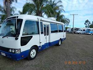2000 Toyota Coaster deluxe Turbo dieself brand new fitout.Np org. Brisbane City Brisbane North West Preview