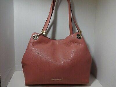 Michael Kors Raven leather handbag