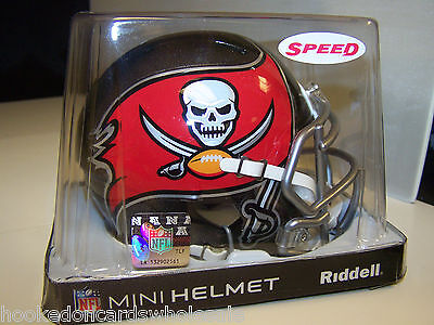 Nfl Mini Helmet - Tampa Bay Buccaneers Speed Mini Helmet Replica NFL