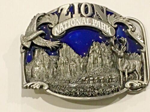 Zion national park.collectible vintage belt buckle.1994