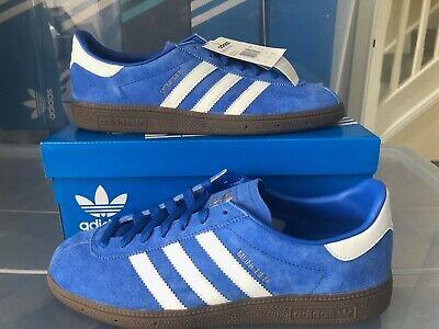 Adidas Munchen SPZL Royal Blue Spezial brand new in box uk 9 deadstock 2016