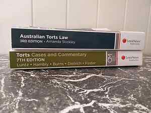 LAW TEXTBOOKS second hand good conditon Brisbane City Brisbane North West Preview