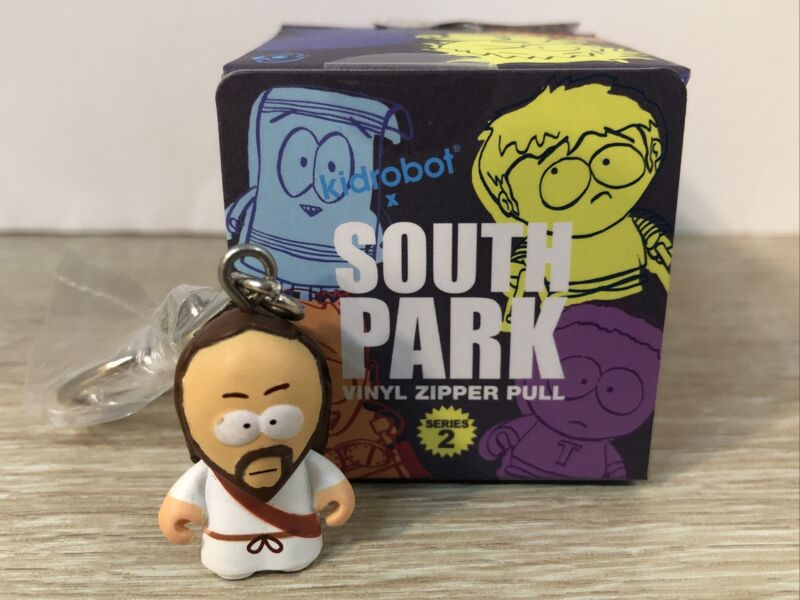 Kidrobot South Park Series 2 Keychain Rare Jesus Figure New Open Blind Box