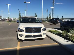Lease take over/cash incentives Infiniti QX80 tech package $1250