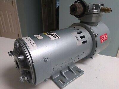 Gast 1hab-19-m114 Piston Air Compressor Pump 100psi 7bar 12vdc 22a 1hab19m114 2