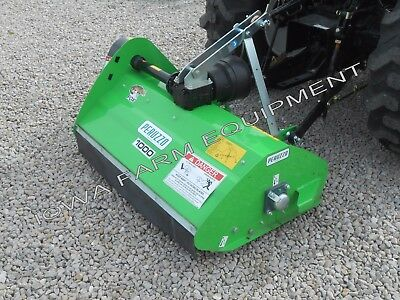Flail Mowerperuzzo 40 Fox 100013-25hpcenter Mountconvertible To Dethatcher