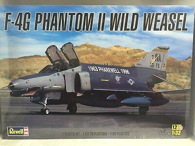 """+++ Revell US Monogram 1/32 F-4G Phantom II """"Wild Weasel"""" Plastic Kit 85-5994"""