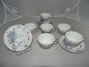Porzellan Tasse Kaffetasse Teetasse Geschirr 6er Set Lavendelmuster Geschenkset - <span itemprop='availableAtOrFrom'>Wolanów, Polska</span> - WIDERRUFSBELEHRUNG & WIDERRUFSFORMULAR Verbrauchern steht ein Widerrufsrecht nach folgender Maßgabe zu, wobei Verbraucher jede natürliche Person ist, die ein Rechtsgeschäft zu Zwecken abschli - Wolanów, Polska