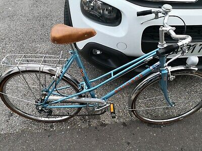 Vintage BMX V Guidon Crossbar Pad-Old School Mid School-BAR PAD Bleu