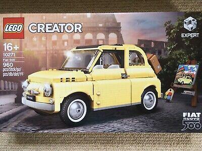 Lego Creator Expert Fiat 500 No 10271 Brand New & Sealed