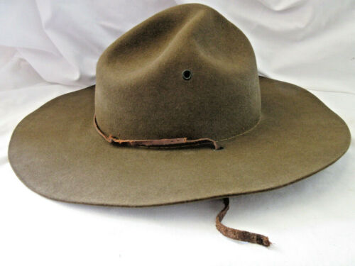 Vintage Official Boy Scouts of America Official Perfect Oval Scout Master Hat