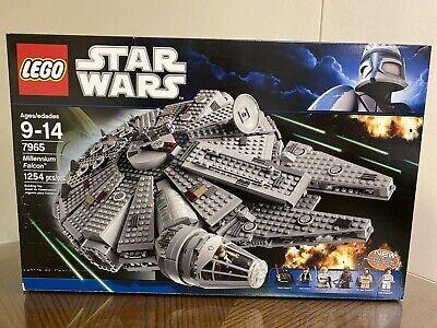 Lego Star Wars Millennium Falcon (7965) Brand New!