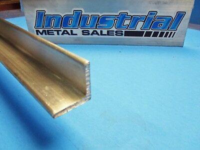 6061 T6 Aluminum Angle 1 X 1 X 72 Long X 18 Thick-- 1 X 1 X 72 X .125
