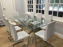 DiningTable and 8xChairs   this is a Bargain Waverley Eastern Suburbs Preview