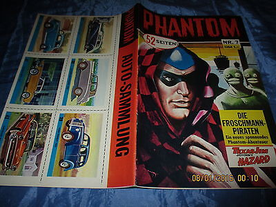 PHANTOM , Nr. 7 , Comics 1967 , Semic Press / Bildschriften , Original  Comic