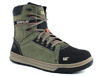 Caterpillar Men's Concave Hi Steel Toe Work Safety Boots P90531