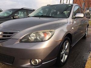 2005 Mazda 3 2.3L GS Sport hatchback manual
