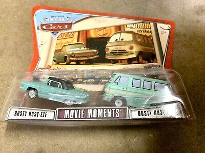 Disney Pixar Cars Movie Moments Rusty & Dusty Rust-Eze Toy Car Set