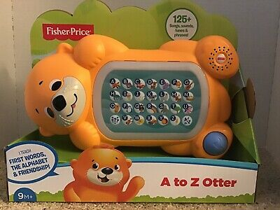 Fisher-Price Linkimals A to Z Otter with Interactive Keyboard For Teaching
