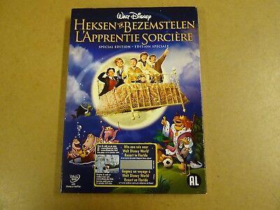 SPECIAL ED. DVD / HEKSEN EN BEZEMSTELEN / L'APPRENTIE SORCIERE ( WALT DISNEY )