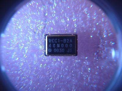 Vectron Vcc1-b2a-48m000 Crystal Oscillator 3.3v 48mhz Cmos Output Smd New Qty.2