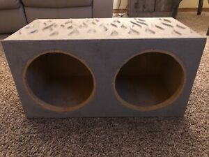 "Dual 10"" Subwoofer Enclosure"